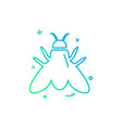 insects icon design vector image vector image