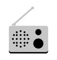 isolated radio icon vector image vector image