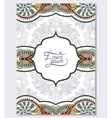 paisley design on decorative floral background for vector image