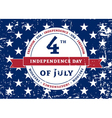 Symbol American Independence Day vector image vector image
