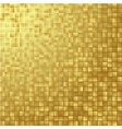 Gold glittering background vector image