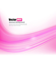 Abstract background Ligth pink curve and wave vector image vector image