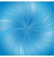 Blue smooth light lines background vector image vector image