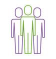 businessman portrait pictogram male icon vector image