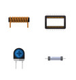 Flat icon technology set of mainframe transducer