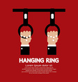 Hanging Ring In The Public Transport Vehicles vector image vector image