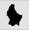 map luxembourg isolated vector image vector image