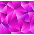 pink triangle seamless pattern vector image