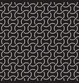 seamless interlacing lines pattern simple vector image
