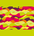 tropical bright colors wavy seamless pattern vector image
