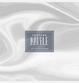 white subtle background marble texture vector image vector image