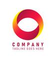 company logo icon vector image vector image