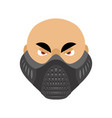 elevation training mask fitness sports accessory vector image