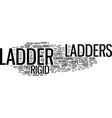 ladders type and use text background word cloud