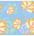sea shells background 1 vector image