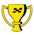 trophy cup icon icon cartoon vector image vector image