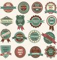 Vintage Badge Label Frame Premium Badge Logo vector image