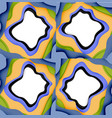 abstract geometric pattern 3d paper layers cut vector image vector image