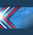 america background design vector image