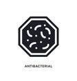 antibacterial isolated icon simple element from