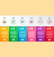 checklist mini pc and group icons set cogwheel vector image vector image