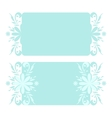 Christmas floral pattern vector image