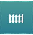 Fence icon - vector image