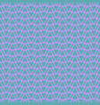 tile pattern with pink triangles on green vector image vector image
