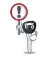 with sign car keys cartoon isolatedon on shape vector image