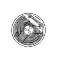 tape reel vector image