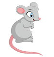 Cartoon mouse vector image