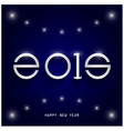 Happy new year 2015 card design vector image vector image