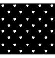 heart polka vector image vector image