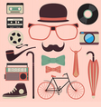 hipster1 vector image