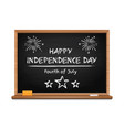 independence day design fourth of july vector image