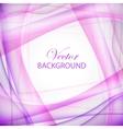 Violet wave vector image vector image