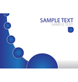 Abstract Brochure Template vector image
