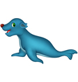 cute Seal cartoon vector image vector image