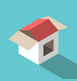 house made box vector image