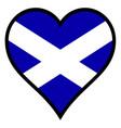love scotland vector image vector image