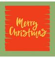 merry christmas for calendar invitation postcard vector image