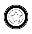 star coin icon vector image vector image