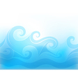 stylized wave vector image vector image
