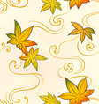 Autumn seamless pattern vector image vector image