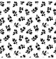 blossom floral seamless pattern vector image