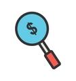 Find Investors vector image