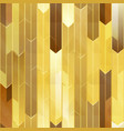 gold mosaic seamless texture vector image vector image