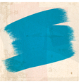 grungy blue paint strokes vector image vector image