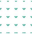 handshake icon pattern seamless white background vector image vector image
