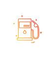 petrol station icon design vector image